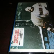 Cine: EN BUSCA DEL AVION PERDIDO VHS ORIGINAL EDICION ARCAICA. Lote 222180080