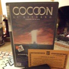 Cine: COCOON EL RETORNO - DANIEL PETRIE - DON AMECHE , WILFORD BRIMLEY - CBS 1990. Lote 222182138