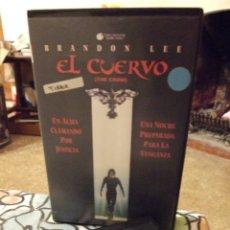 Cine: EL CUERVO - ALEX PROYAS - BRANDON LEE , ERNIE HUDSON - MIRAMAX 1996 CARATULA FOTOCOPIA. Lote 222183060