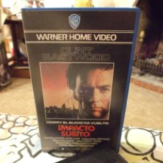 Cine: IMPACTO SUBITO HARRY EL SUCIO - CLINT EASTWOOD - SANDRA LOCKE - WARNER 1986. Lote 222183561