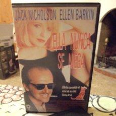 Cine: ELLA NUNCA SE NIEGA - BOB RAFELSON - JACK NICHOLSON , ELLEN BARKIN - CIC 1994. Lote 222183762
