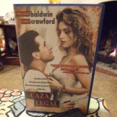 Cine: CAZA LEGAL - ANDREW SIPES - WILLIAM BALDWIN , CINDY CRAWFORD - WARNER 1993. Lote 222183885