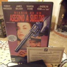 Cine: DIARIO DE UN ASESINO A SUELDO - ROY LONDON - FOREST WHITAKER , JAMES BELUSHI - CBS 1991. Lote 222184462