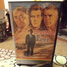 Cine: CONSPIRACION DE SILENCIO - JOHN STURGES - SPENCER TRACY , ROBERT RYAN - VIDEOMAN 1985. Lote 222184591