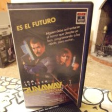 Cine: RUNAWAY BRIGADA ESPECIAL - MICHAEL CRICHTON - TOM SELLECK , GENE SIMMONS - RCA 1986. Lote 222184708