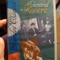 Cine: EL GENERAL DE LA ROVERE - ROBERTO ROSSELLINI - VITTORIO DE SICA. Lote 222294772