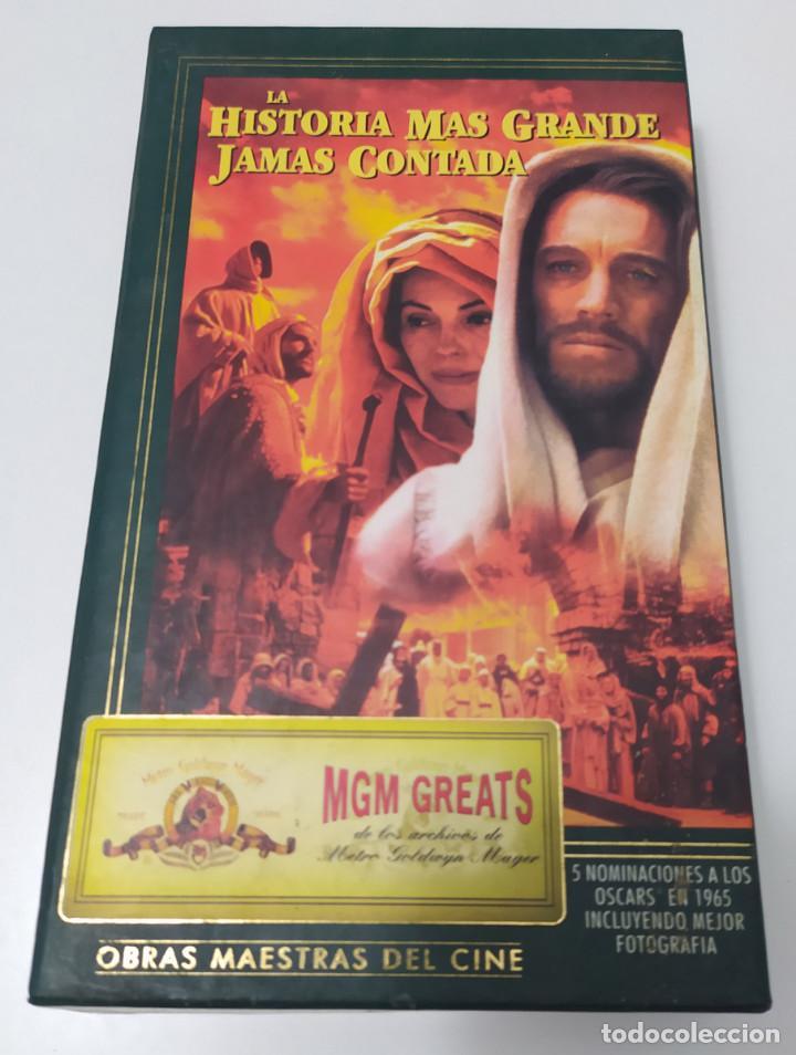 PELICULA VHS LA HISTORIA MAS GRANDE JAMAS CONTADA - EDICION ESPECIAL (Cine - Películas - VHS)