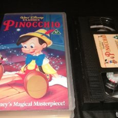 Cine: PINOCHO - VHS EN INGLÉS , PINOCCHIO. Lote 222382673