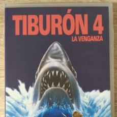 Cine: VHS - TIBURON 4 LA VENGANZA - LORRAINE GARY,MARIO VAN PEEBLES,MICHAEL CAINE - TERROR, HORROR. Lote 222390283