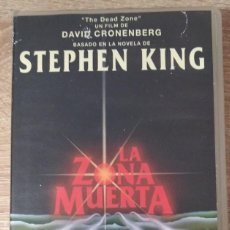Cine: VHS - LA ZONA MUERTA - CHRISTOPHER WALKEN,MARTIN SHEEN,STEPHEN KING,DAVID CRONENBERG - TERROR. Lote 222394440