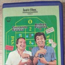 Cine: VHS - LOS LIANTES - FERNANDO ESTESO,ANDRÉS PAJARES,ANTONIO OZORES,MARIANO OZORES. Lote 222395066