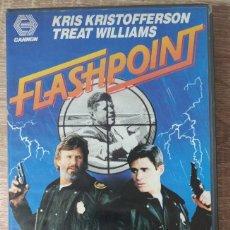 Cine: VHS - FLASHPOINT - KRIS KRISTOFFERSON,TREAT WILLIAMS,WILLIAM TANNEN - ACCIÓN,THRILLER - CANNON. Lote 222395380