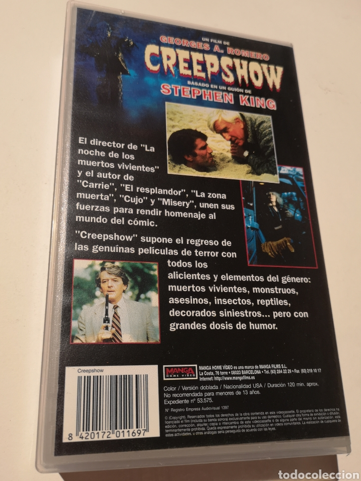 Cine: Creepshow Cine de Terror VHS - Foto 2 - 222606538