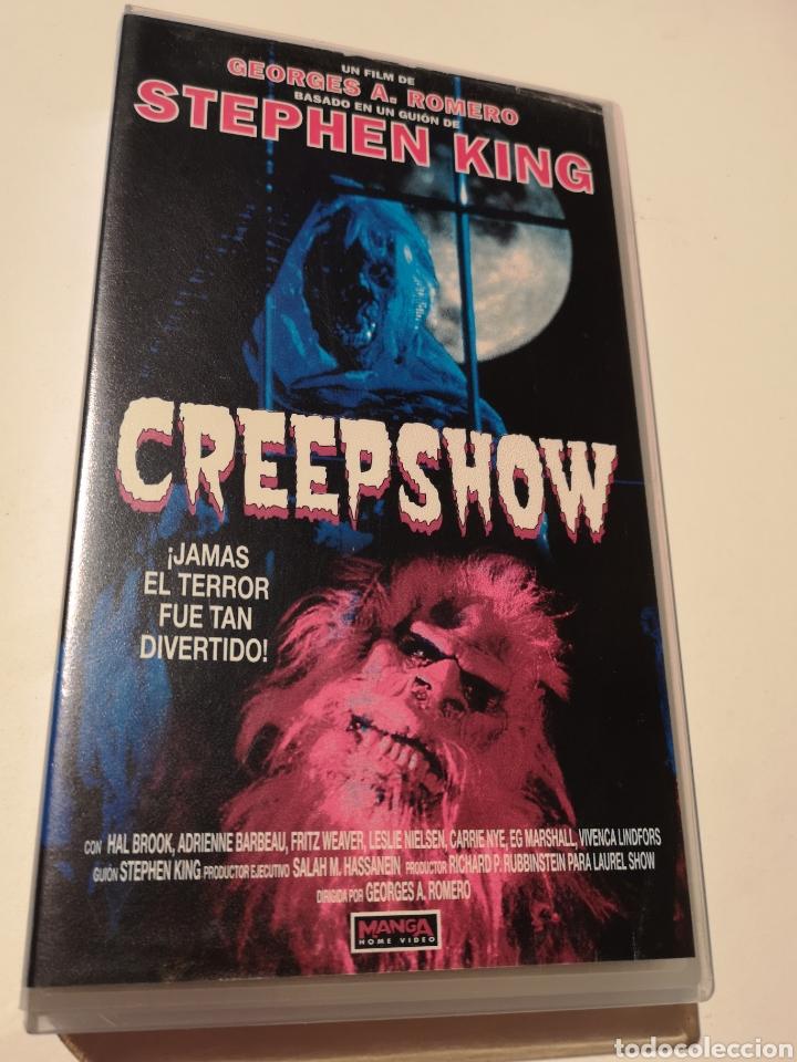 CREEPSHOW CINE DE TERROR VHS (Cine - Películas - VHS)