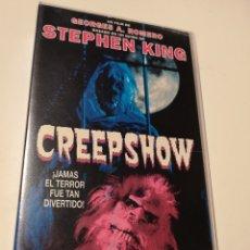 Cine: CREEPSHOW CINE DE TERROR VHS. Lote 222606538