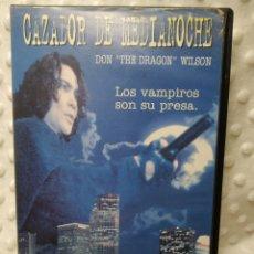 Cine: CAZADOR DE MEDIANOCHE - LOS VAMPIROS SON SU PRESA - VHS. Lote 222614026