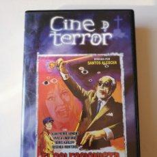 Cine: EL COLECCIONISTA DE CADÁVERES CINE DE TERROR VHS. Lote 222632170