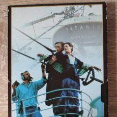 Cine: VHS - AYER Y HOY COMO SE HIZO TITANIC - DOCUMENTAL, MAKING OF. Lote 222645521