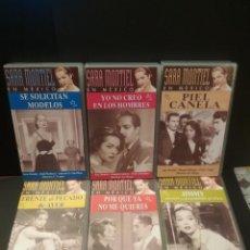 Cine: COLECCION EN VHS SARA MONTIEL EN MEXICO 6 CINTAS VHS MUY BUEN ESTADO VELLA VISION1997 PEPETO. Lote 222707447