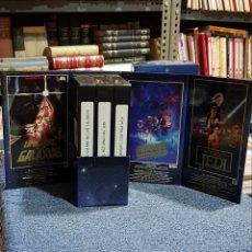 Cine: VHS STAR WARS TRILOGIA GENERAL. Lote 222715187