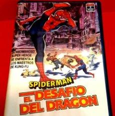 Cine: SPIDERMAN: EL DESAFIO DEL DRAGON (1979) - THE DRAGON'S CHALLENGE - 1ª EDICIÓN. Lote 222721416