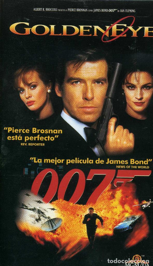 007 - GOLDENEYER (CINTA VHS) (Cine - Películas - VHS)
