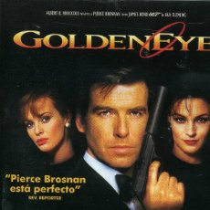 Cine: 007 - GOLDENEYER (CINTA VHS). Lote 222733892