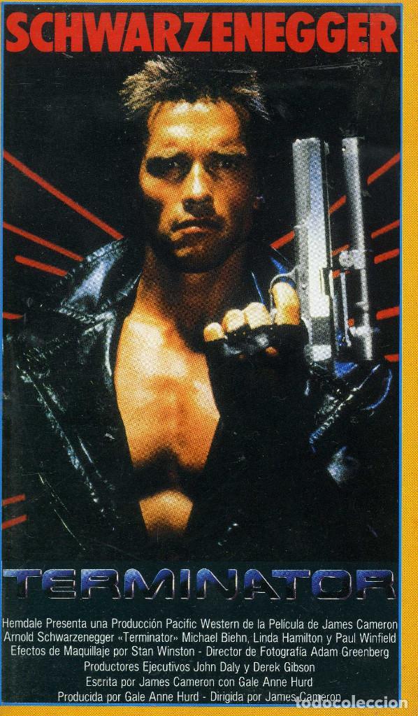 TERMINATOR (CINTA VHS) (Cine - Películas - VHS)