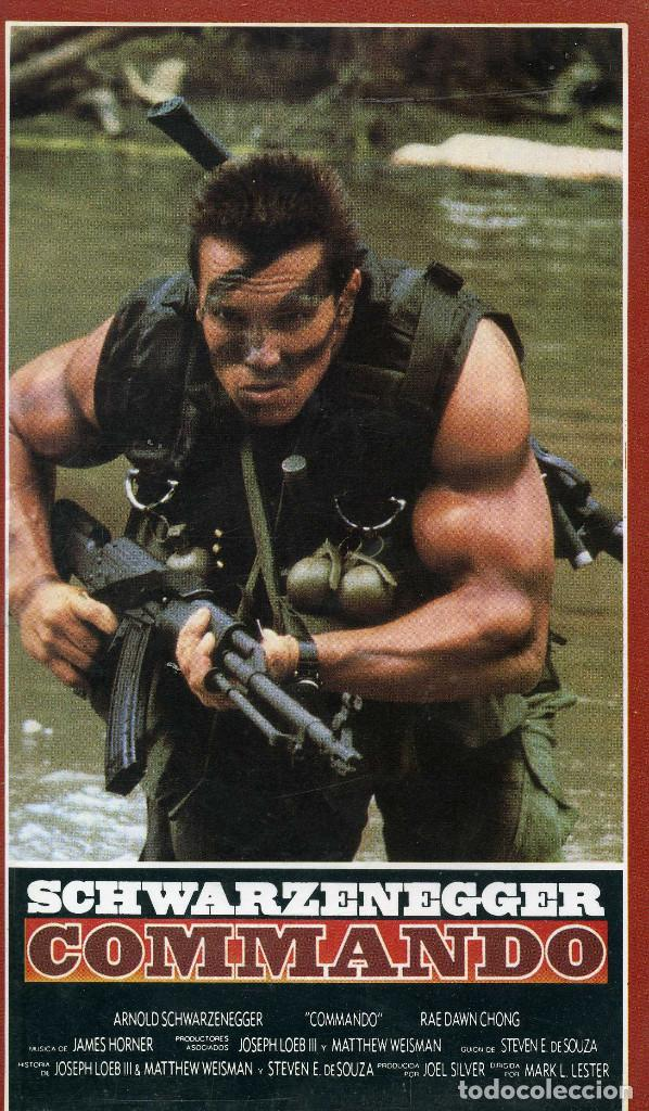COMMANDO (CINTA VHS) (Cine - Películas - VHS)