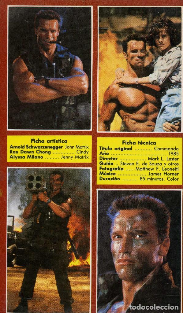 Cine: COMMANDO (CINTA VHS) - Foto 2 - 222734290
