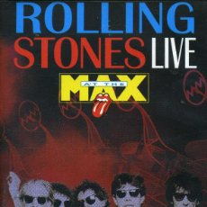 Cine: ROLLING STONES - LIVE MAX (PELÍCULA VHS). Lote 222738965