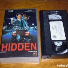 Cine: HIDDEN . OCULTO - MICHAEL NOURI, KYLE MACLACHLAN - TERROR / SCFI - VHS. Lote 222743896