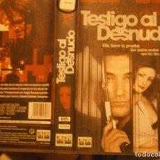 Cine: PELICULA VHS, TESTIGO AL DESNUDO. Lote 222849231