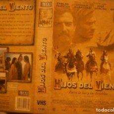 Cine: PELICULA VHS, HIJOS DEL VIENTO. Lote 222849280