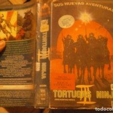 Cine: PELICULA VHS, TORTUGAS NINJA 3. Lote 222849315