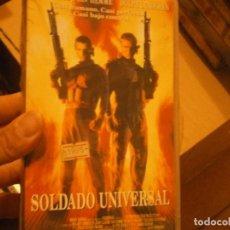 Cine: PELICULA VHS, SOLDADO UNIVERSAL. Lote 222849375