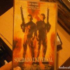 Cine: PELICULA VHS, SOLDADO UNIVERSAL. Lote 222849428