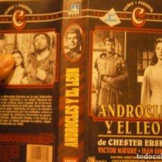 Cine: PELICULA VHS, ANDROCLES Y EL LEON. Lote 222849520