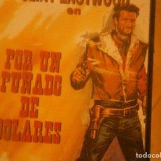 Cine: PELICULA VHS, POR UN PUÑADO DE DOLARES. Lote 222849606