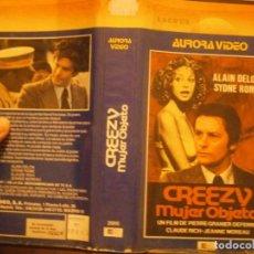 Cine: PELICULA VHS, CREECY, MUJER OBJETO. Lote 222849642
