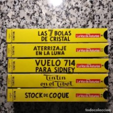 Cine: TINTÍN: LAS AVENTURAS DE TINTÍN. VHS.(5). Lote 223252948