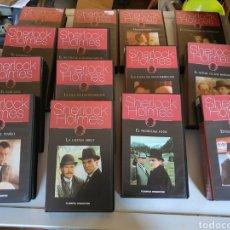 Cine: COLECCION DE SHERLOCK HOLMES EN CINTAS VHS. Lote 223315396
