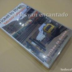 Cine: RENFE TALGO CABRIDE+ PORTBOU TO GIRONA. VHS. SERIE TICKET TO RIDE. 55 MIN. RARO DOCUMENTAL. Lote 223467492