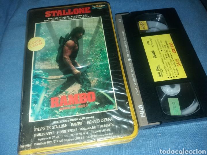 RAMBO - EL ACORRALADO 2- VHS- 1ª EDICION (Cine - Películas - VHS)
