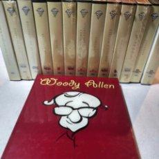 Cine: COLECCIÓN DE WOODY ALLEN, 27 PELÍCULAS VHS, ALGUNAS AÚN PRECINTADAS, Y LIBRO DESCRIBIENDO SU VIDA. Lote 224048157