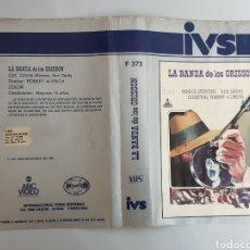Cine: CARATULA VHS - LA BANDA DE LOS GRISSON. Lote 224517902