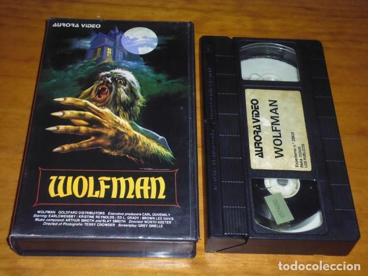 WOLFMAN - KRISTINE REYNOLDS, BROWN LEE DAVIS, WORTH KEETER - AURORA VIDEO - TERROR - VHS (Cine - Películas - VHS)