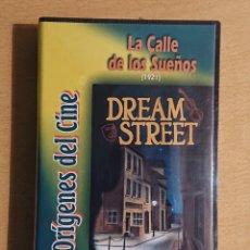 Cine: LA CALLE DE LOS SUEÑOS · DREAM STREET (1921) · PELÍCULA VHS NUEVA CON PRECINTO DAVID W. GRIFFITH. Lote 224863260