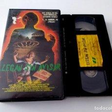 Cine: VHS - LLEGAN SIN AVISAR. Lote 44210295