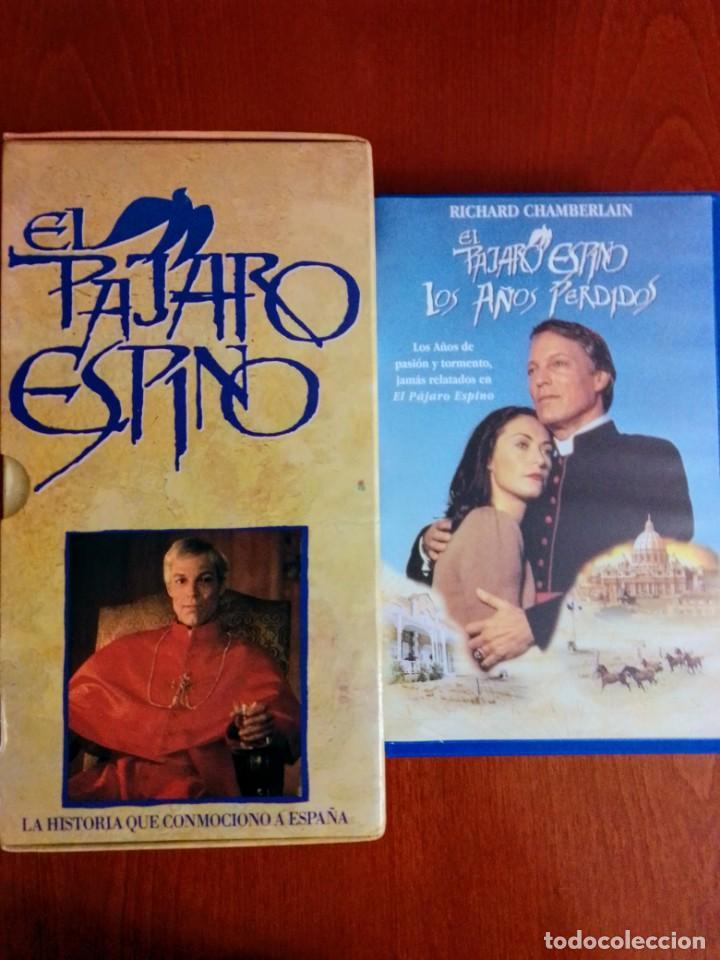 LOTE VHS PÁJARO ESPINO, SERIE COMPLETA MÁS LOS AÑOS PERDIDOS (Cine - Películas - VHS)